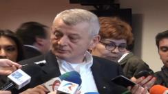 Declarațiile primarului General al Bucureștiului, Sorin Oprescu, după comandamentul pentru curățenia de primăvară