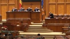 Adresarea Președintelui României, Traian Băsescu către Parlamentul României