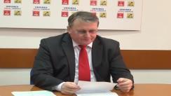 Conferință de presă PSD Cluj, în prezenta dlui. Remus Lăpușan, președintele PSD Cluj