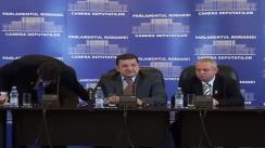 Conferinţă de presă susţinută de deputaţii Liviu-Bogdan Ciucă, Ovidiu Raeţchi şi Ion Diniţă (Grup PC)