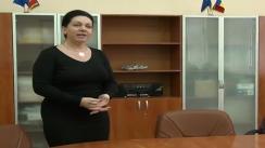 Conferință de presă Președintele Comisiei de Examinare la olimpiada de matematică din jud. Iași, d-na Cristina Vâlcu la Inspectoratul Școlar Județean Iași