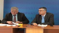 Conferința de presă susținută de Partidul Conservator Cluj