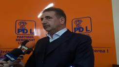 Declarațiile de presă al dl. Gabriel Surdu, Președintele filialei PDL Iași