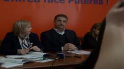 Conferință de presă PDL Iași, cu participarea deputatului Camelia Bogdanici și Președintelui filialei PDL Iași