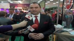 Declarațiile de presă al dl. Cristian Adomniței, Președintele Consiliului Județean Iași la deschiderea standului de la Târgul de Turism de la București