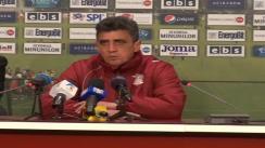 Conferința de presă după meciul CFR Cluj - Rapid București