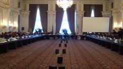 Comisia parlamentară pentru revizuirea Constituției (imagini protocolare)