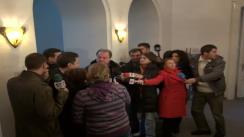 Declarații de presă susținute de președintele PDL, Vasile Blaga
