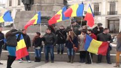 """""""Hora Unirii"""" în Piața Unirii din Iași. Eveniment organizat de ATRAG"""