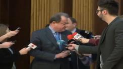 Declarațiile președintelui PDL, Vasile Blaga, după Consiliul Național Director a PDL din 27 martie 2013