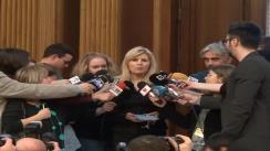 Declarațiile deputatului PDL, Elena Udrea, după Consiliul Național Director al PDL din 27 martie 2013