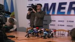 Partidul Democrat din Moldova - Alegerea președintelui Republicii Moldova
