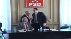Imagini de la începutul ședinței BPN a Partidului Social Democrat din 1 aprilie 2013