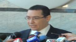 Declarații de presă susținute de prim-ministrul, Victor Ponta după ședința secției de procurori a Consiliului Superior al Magistraturii