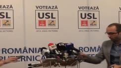 Declarație de presă susținută de Crin Antonescu