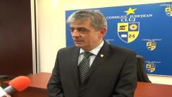 Declarație de presă oferită de Horea Uioreanu, președintele Consiliului Județean Cluj, după ședința extraordinară din 3 aprilie 2013