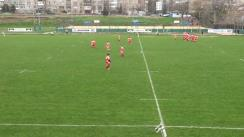 Meciul de Rugby între CSM București și CS Dinamo. Etapa III SuperLiga CEC Bank