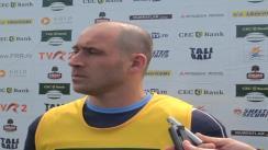 Declarații de presă după meciul Farul Constanța - U Cluj contând pentru etapa a III-a din SuperLiga CEC Bank