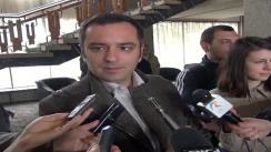 Declarațiile de presă al dl. Daniel Minciună, șeful Drumurilor Județene Iași după ședința CJ