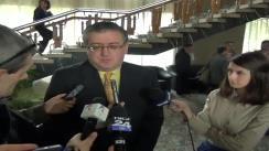 """Declarațiile de presă al dl. Dan Doboș, proaspăt alesul Director al Bibliotecii Județene """"Gh. Asachi"""""""