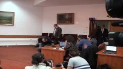 Prezentarea noului ministru al Justiției, Robert Marius Cazanciuc