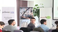 """BUZZ!CAMP Ziua a IV-a. Conferința """"The best or nothing"""" Cum să-ți construiești o carieră de succes."""