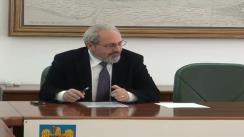 Ședința Comitetului consultativ de dialog civic pentru problemele persoanelor vârstnice la Prefectura Județului Iași