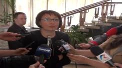 Declarațiile de presă al d-nei Laura Georgescu, Președintele CNA
