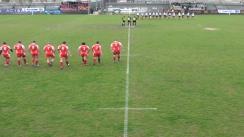 Meciul de Rugby între Dinamo Bucuresti și U Cluj. Etapa V SuperLiga CEC Bank