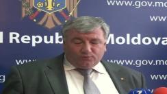 Declarațiile lui Leonid Bujor după ședința Guvernului din 2 septembrie 2010