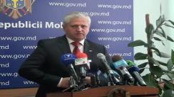 Declarațiile lui Valeriu Cosarciuc după ședința Guvernului din 2 septembrie 2010
