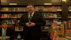 Lansare de carte - Invitat: Lucian CROITORU, consilier al guvernatorului BNR. La Librăria Tafrali, Iași