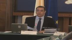 Ședința Guvernului României din 23 aprilie 2013 (imagini protocolare)