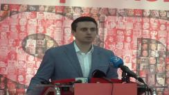 Conferință de presă susținută de purtătorul de cuvânt al PSD Cătălin Ivan