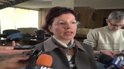 Declarațiile de presă al, d-nei Gabriela Vasilache, director Agenției Județene  pentru Ocuparea Forței de Muncă Iași