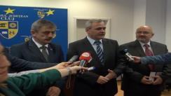Declarații de presă oferite de Liviu Nicolae Dragnea, ministrul Dezvoltării Regionale și Administrației Publice