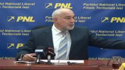Conferință de presă susținută de dl. Varujan Vosganian, ministrul Economiei la Iași