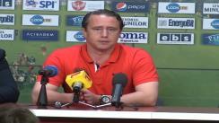 Conferința de presă după meciul CFR Cluj - Steaua București