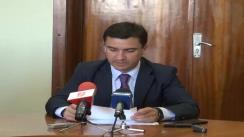 Conferință de presă susținută de Mihai Chirica, președintele filialei muncipale PSD Iași