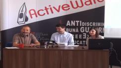 """Conferința de presă cu tema """"Bugetul Capitalei – o sarcină prea grea pentru Sorin Oprescu"""""""