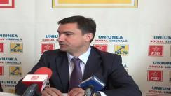Conferință de presă susținută de Mihai Chirica, viceprimarul Municipiului Iași