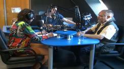 """""""Clujul în direct"""". Emisiune realizată de Corina Brândușan la Napoca FM. Invitat: Virgil Mihaiu, ambasador al Zilei Internaționale a Jazz-ului la Cluj"""