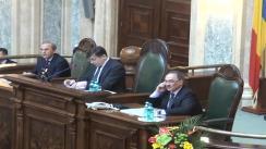 Ședința în plen a Senatului României din 7 mai 2013