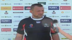 Declarații după Meciul de Rugby între Steaua București și U Cluj. Etapa IX SuperLiga CEC Bank