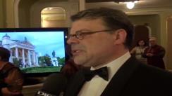 Declarațiile de presă al dl. Daniel Barbu, Ministrul Culturii la Gala Premiilor UNITER la Iași