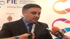 Declarațiile de presă al dl. Florin Mindirigiu, organizatorul Festivalului Internațional de Educație Iași