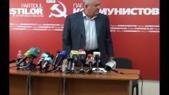 Vladimir Voronin - Briefing privind desfășurarea referendumului