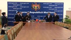 Ceremonia de semnare a programului de cooperare între Ministerul Culturii al Republica Moldova și Ministerul Culturii al Chinei pentru anii 2010-2014