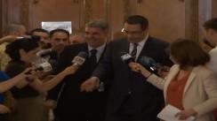 Declarațiile președintelui PSD, Victor Ponta, înainte de Biroul Permanent Național al PSD din 20 mai 2013