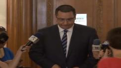 Declarațiile președintelui PSD, Victor Ponta, după ședința Biroului Permanent Național al PSD din 20 mai 2013